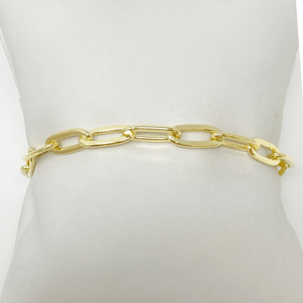 Coco Classic Chainlink Bracelet in Gold