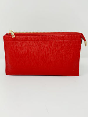 Dani Bag in Cherry Red