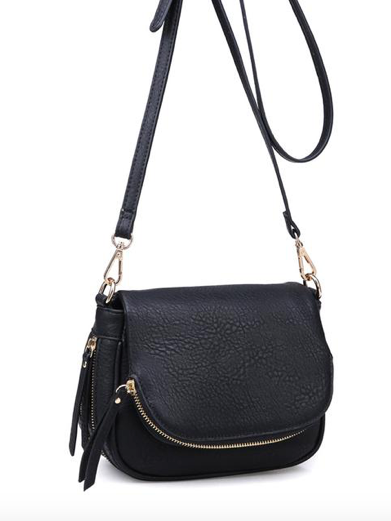 Diva Crossbody Bag in Black