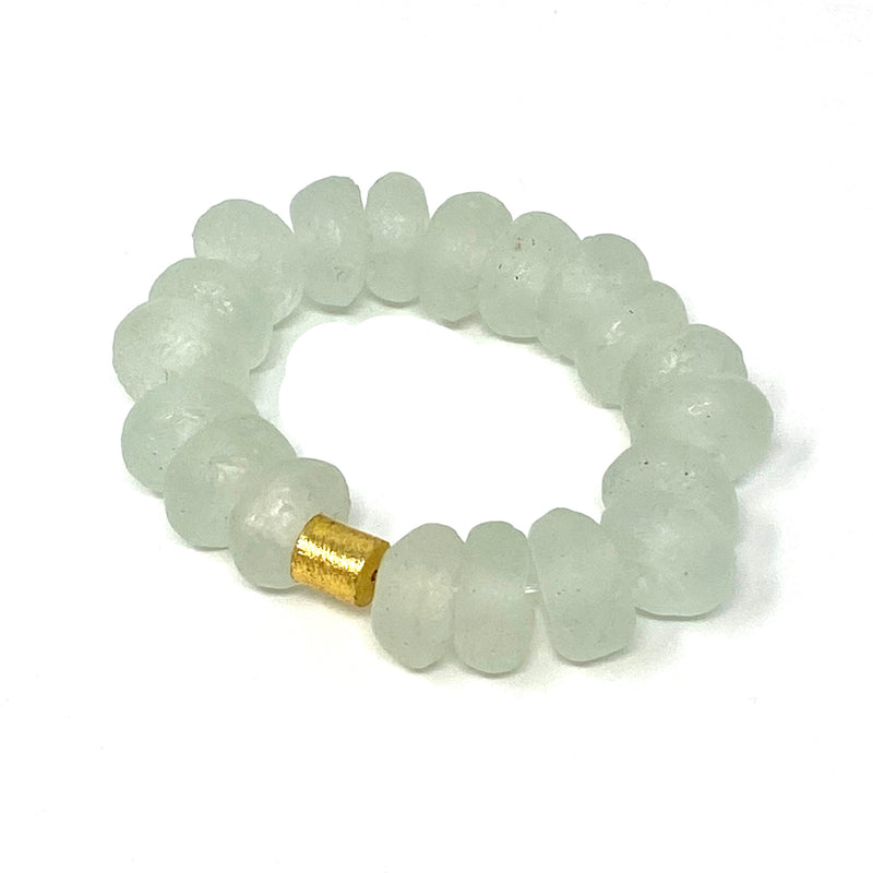 Icy Glass Bar Bracelet