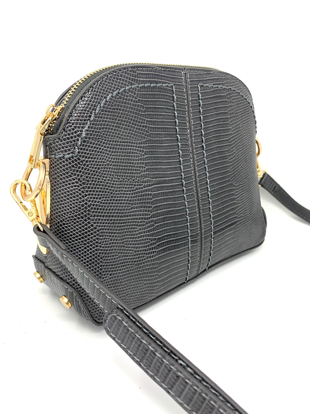 Sale! Jackie Bag in Grey Reptile