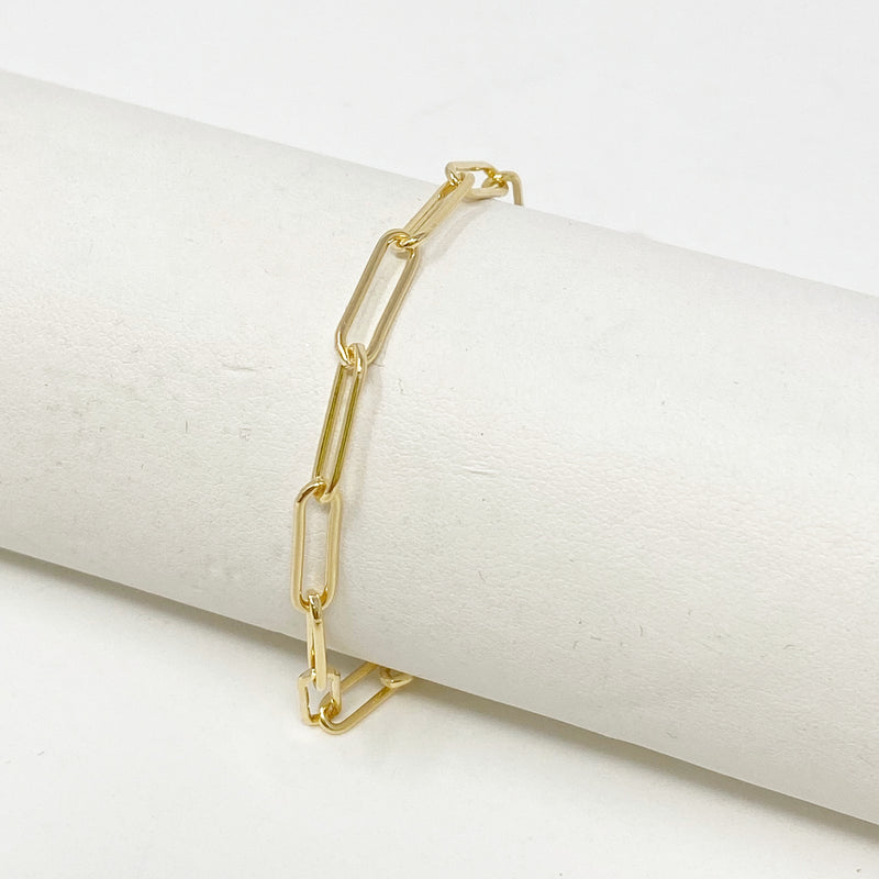 Annie Chainlink Bracelet in 14K Gold