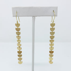 Mini Moons Chain Earring