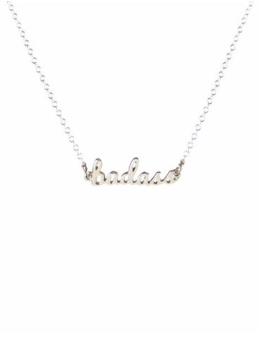 Badass Necklace in Sterling Silver