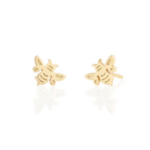 KN Bumble Bee Studs in Gold
