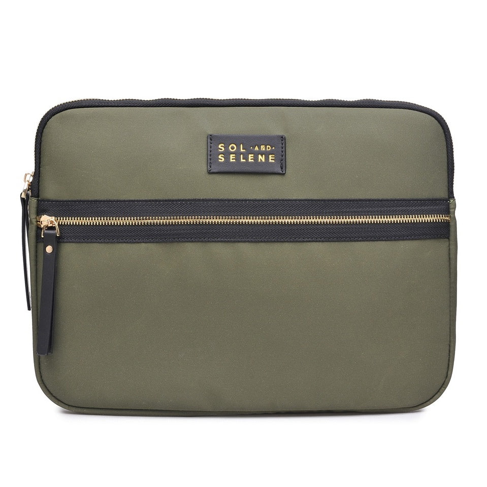 Tech Case in Olive