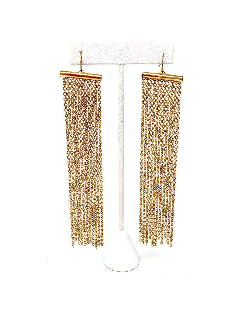 SALE! Chain Panel Earrings