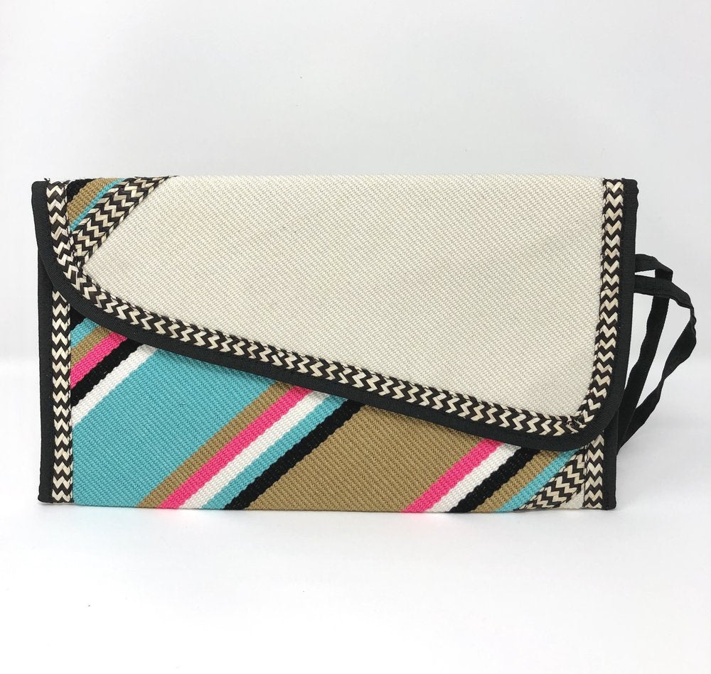 Love Is Turquoise Clutch