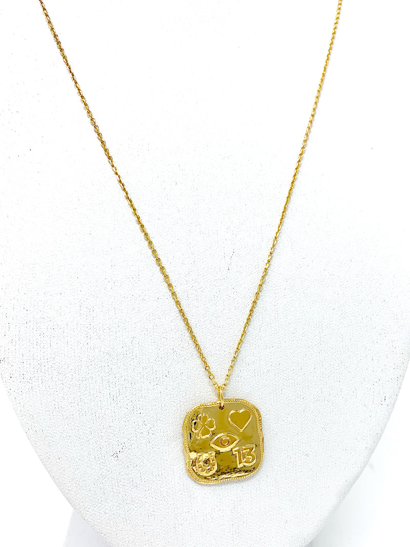 The Lucky Charms Pendant Necklace