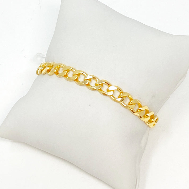 Mason Chainlink Bracelet in Gold