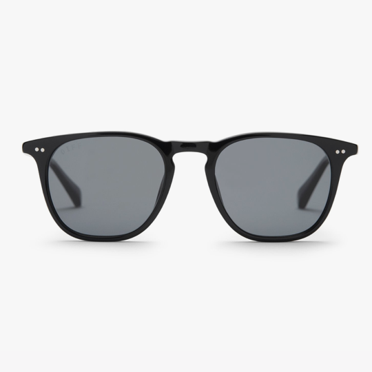 Maxwell Black with Grey Polarized Lens
