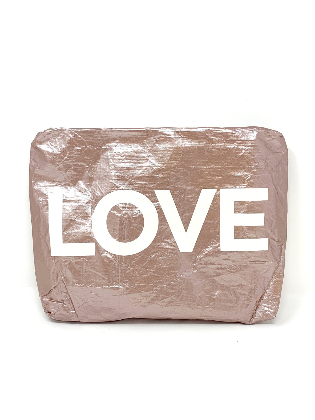 Hi Love Travel Rose Gold Medium LOVE Pouch