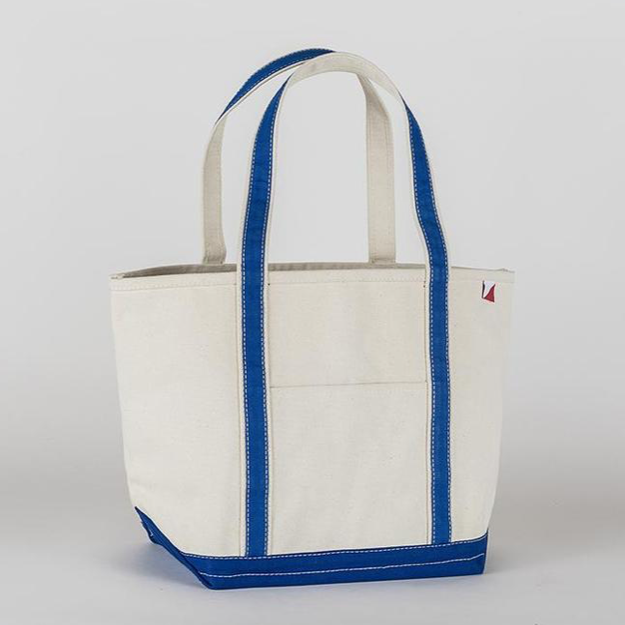Medium Classic Boat Tote in Cobalt Blue