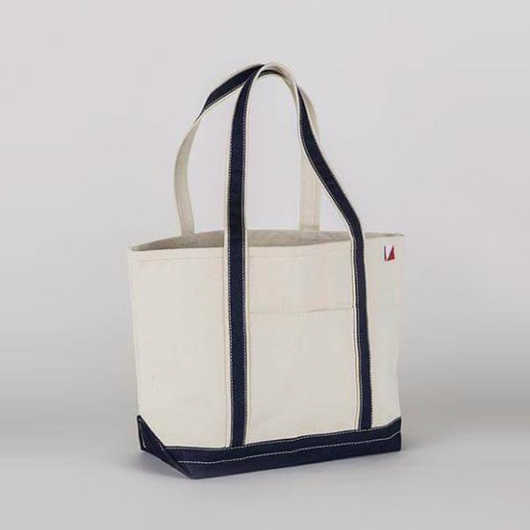 Medium Classic Boat Tote in Navy
