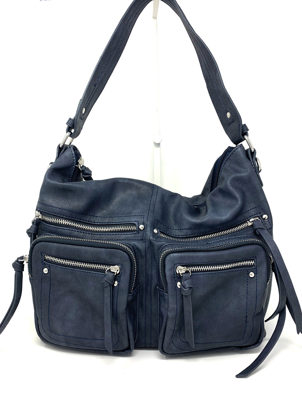 The Michelle Cargo Bag in Navy