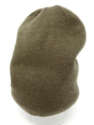 SALE! Cashmere Beanie in Olive