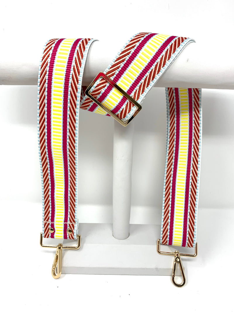 Patterned Strap in Pink Lemonade