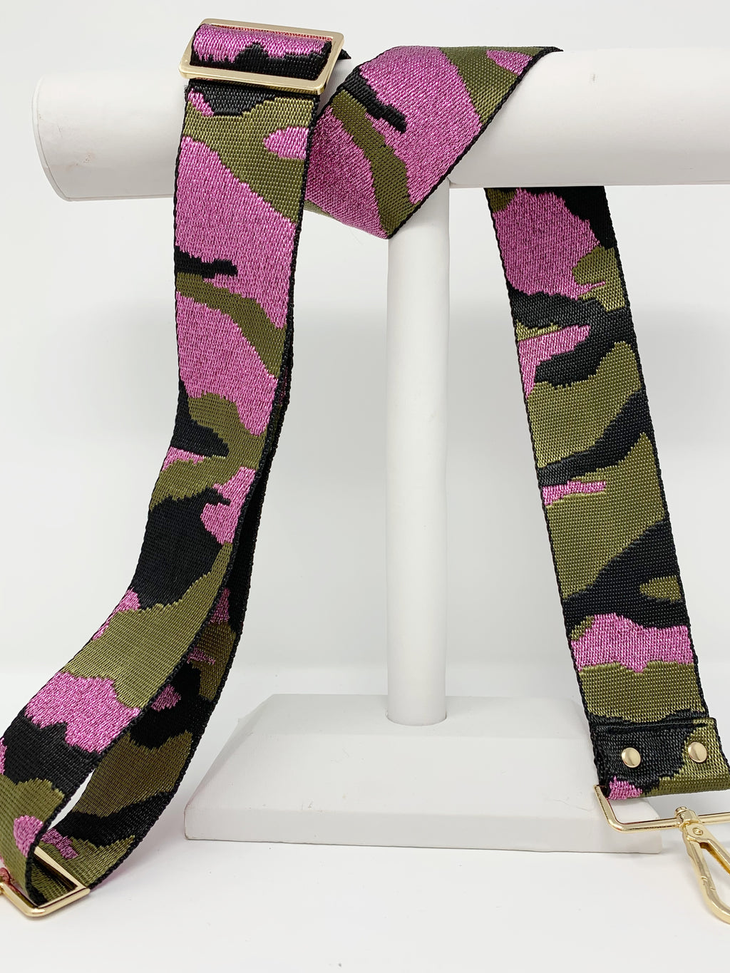 Pink Camo Strap