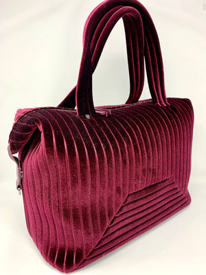 SALE! Velvet Overnighter in Wine