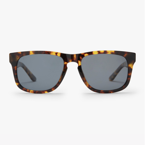 Riley Amber Tortoise with Grey Polarized Lens