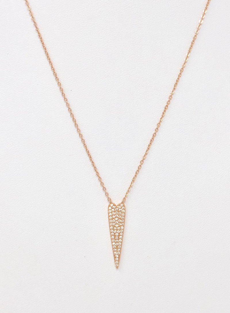 Lots of Rose Gold Love Necklace