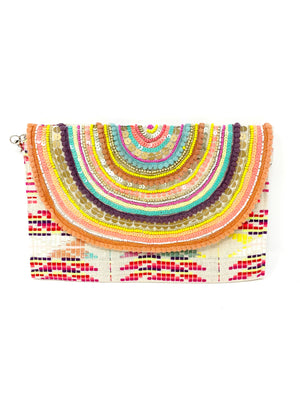 Confetti Embellished Clutch
