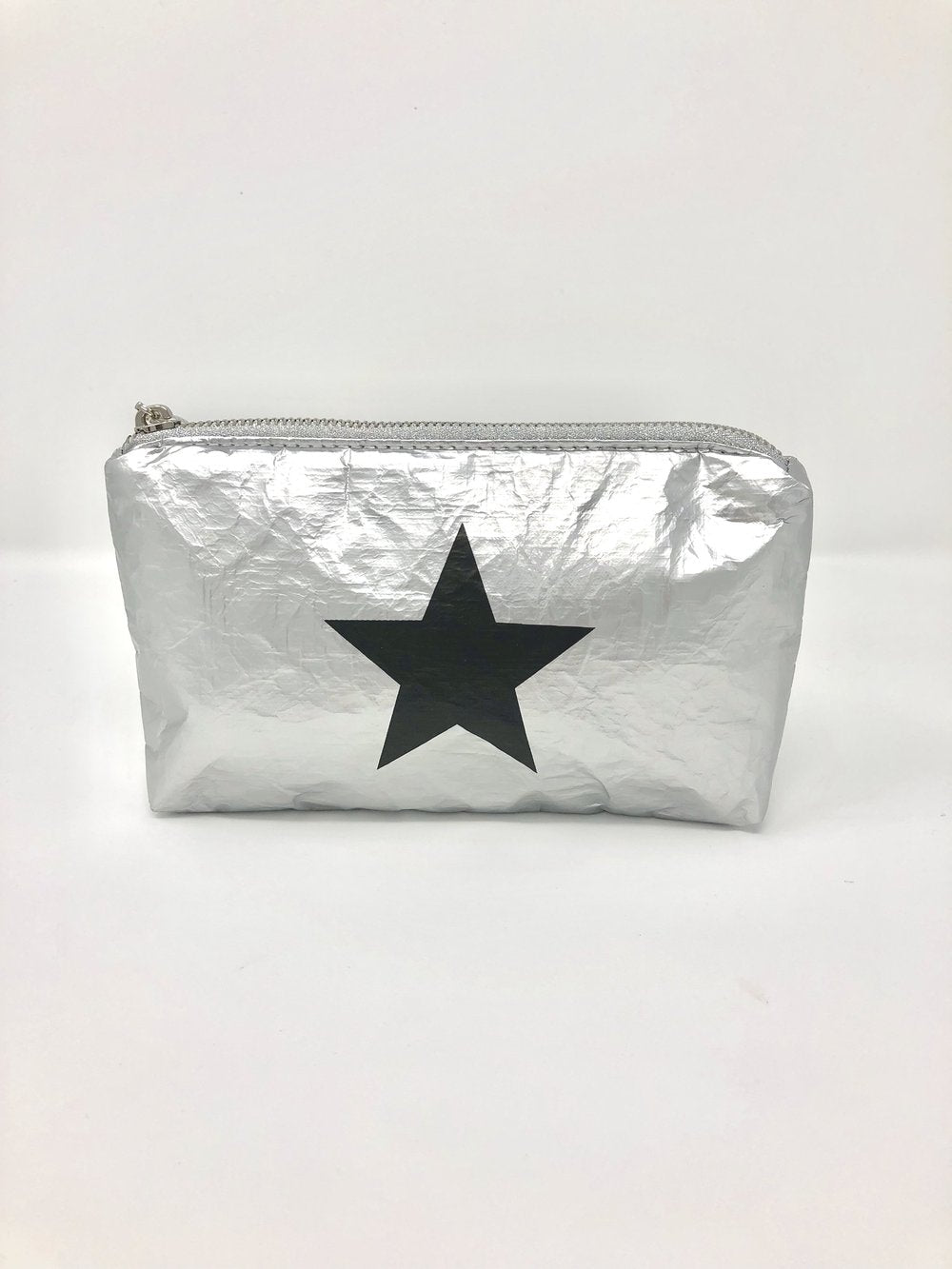 Hi Love Travel Silver Star Small Pouch