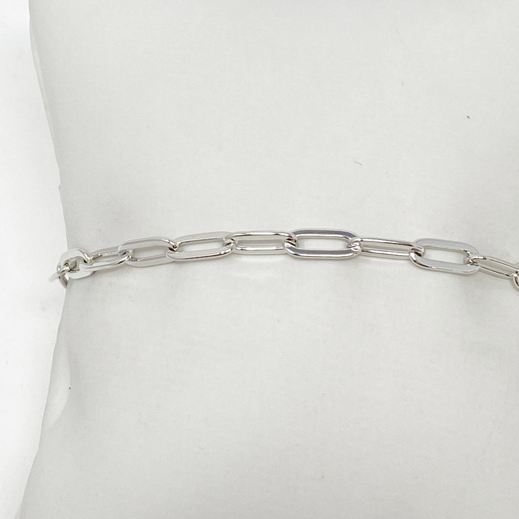 Coco Classic Chainlink Bracelet in Silver