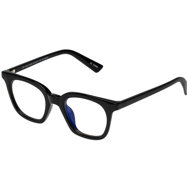 Snatcher in Black Tie Blue Screen Glasses in Black Marker