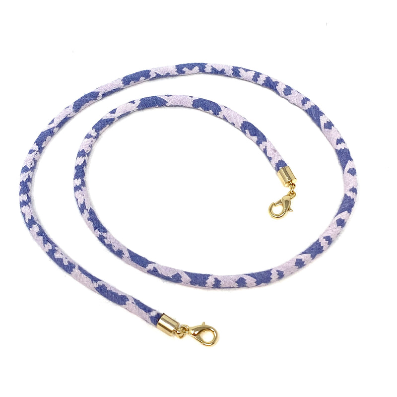 SALE! Mask Chain in Blue Ikat Cording