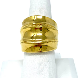 The Zandra Cocktail Ring in Gold