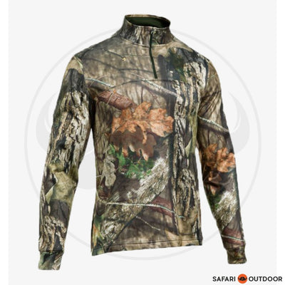 UNDER ARMOUR MEN 1/4ZIP ARMR FLEECE - CAMO REALTREE EXTRA