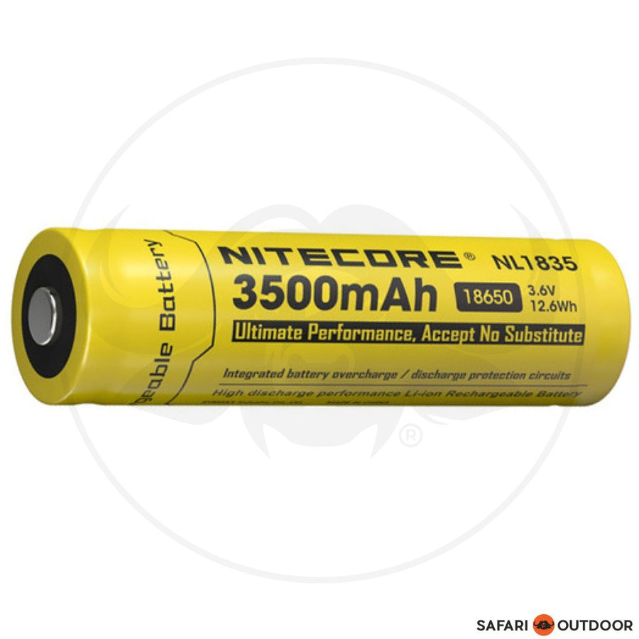 NITECORE 18650 3500mAh RECHARGEABLE BATTERY