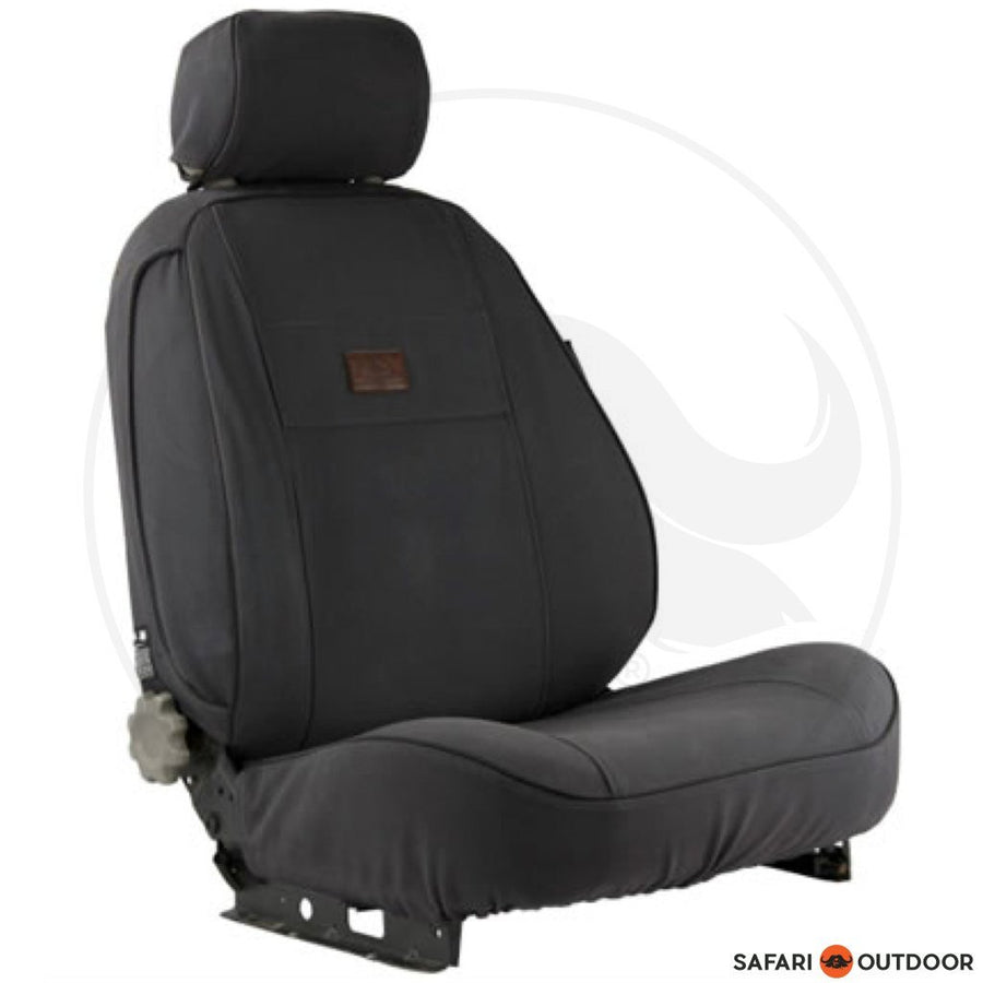 SEAT COVER M&M ISUZU SINGLE E/C 2014 - CHARCOAL - SAFARI OUTDOOR