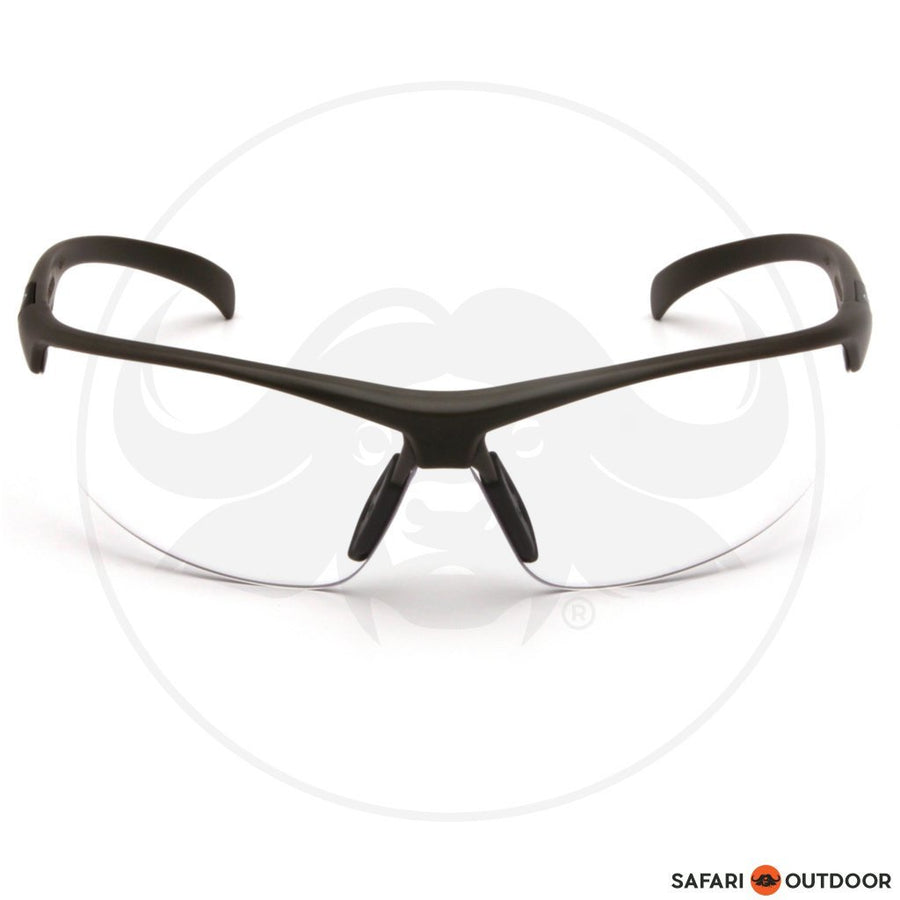 GLASSES DUCKS UNLIMITED BLACK FRAME/CLEAR LENS - SAFARI OUTDOOR