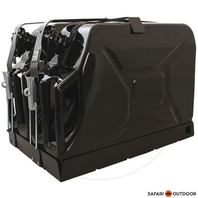 FRONT RUNNER  DOUBLE JERRY CAN HOLDER - SAFARI OUTDOOR