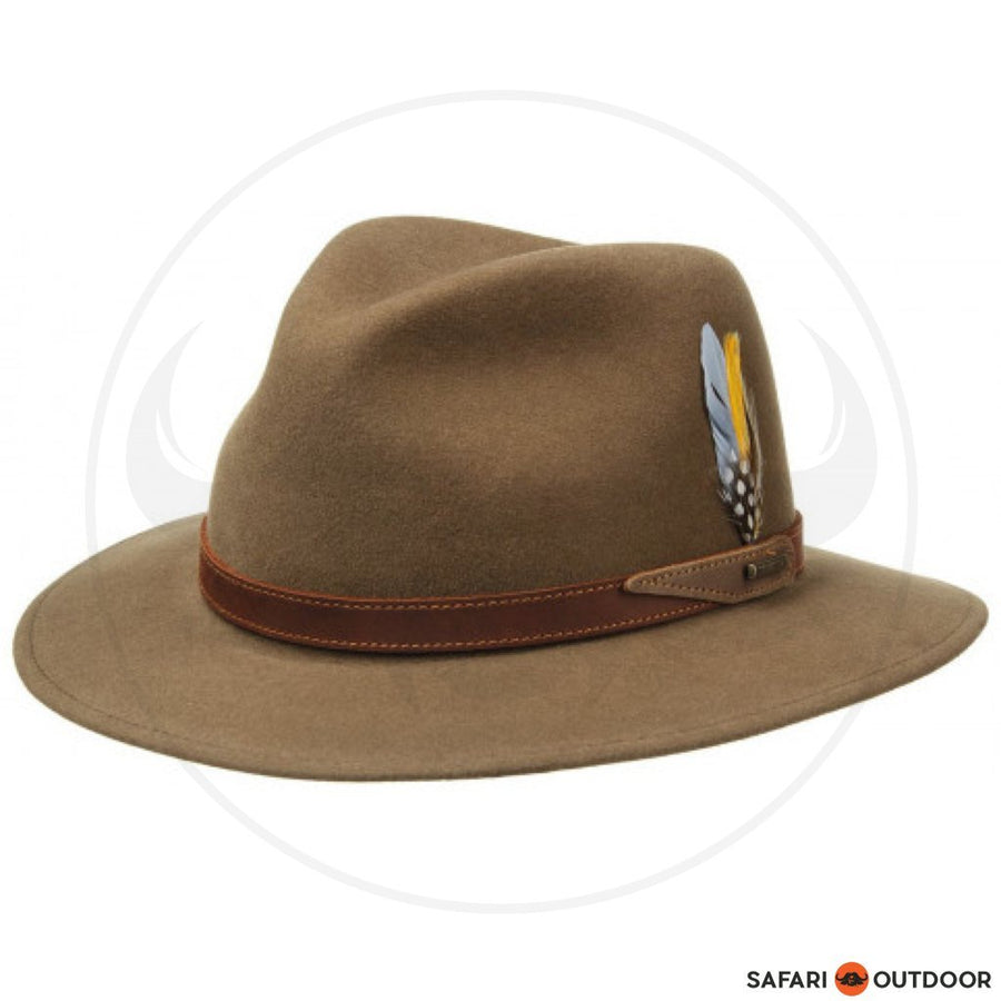 STETSON HAT TRAVELLER VITAFELT -BROWN