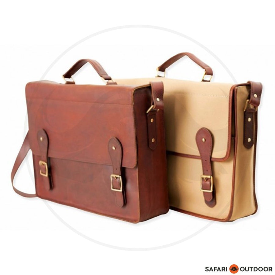 Melvill & Moon Mombasa Mail Bag - Leather
