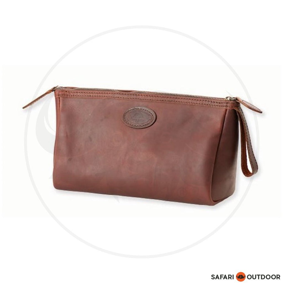 Melvill & Moon Timau Toiletry Bag - Leather