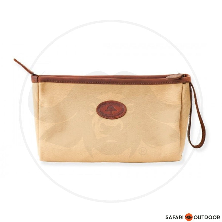 MELVILL & MOON TIMAU TOILETRY BAG - KHAKI CANVAS