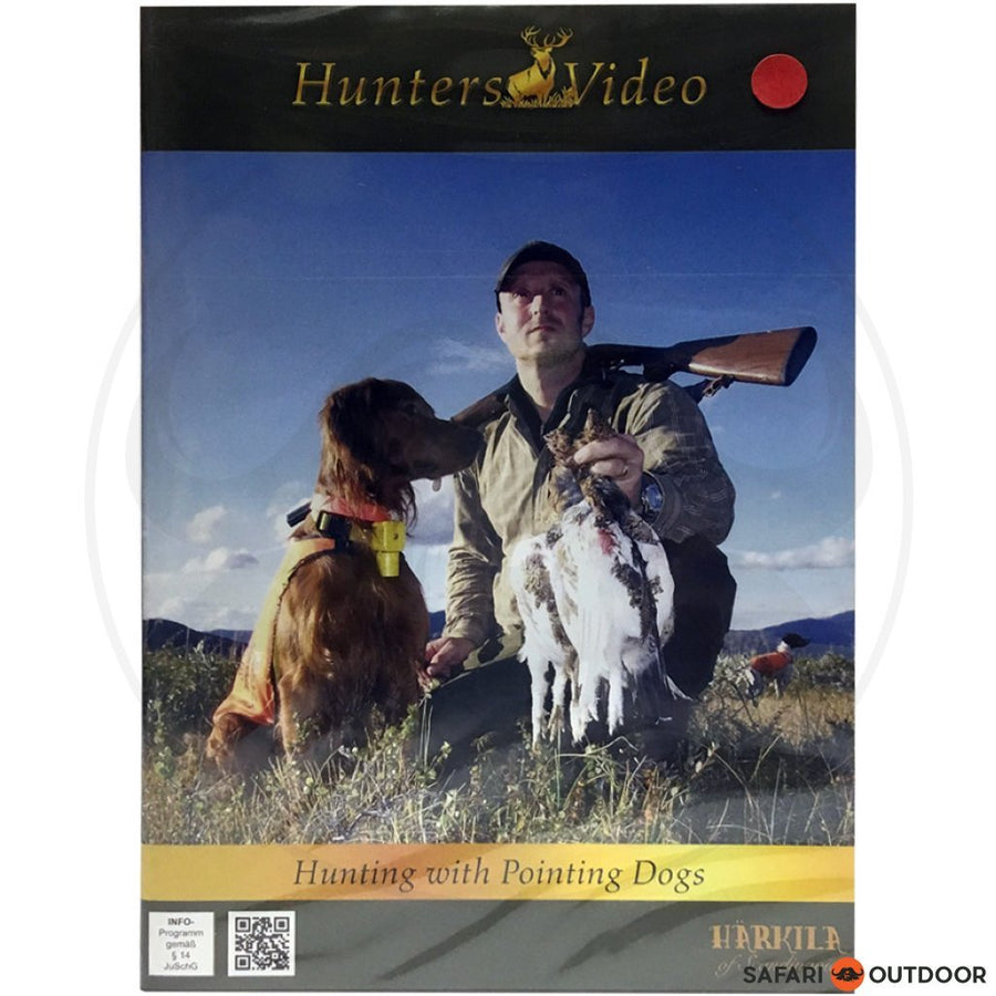 HUNTING WITH POINTING DOGS - HUNTERS (DVD)