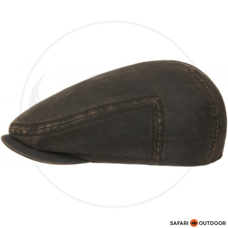 STETSON CAP DRIVER -WAXED COTTON