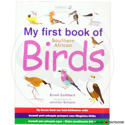 MY FIRST BOOK OF SA: BIRDS (BOOK)