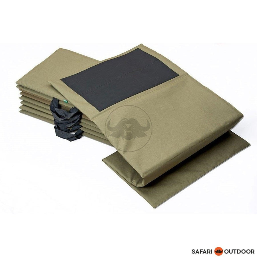 SHOOTING MAT BUSHILL HARD MAT - BLACK - SAFARI OUTDOOR