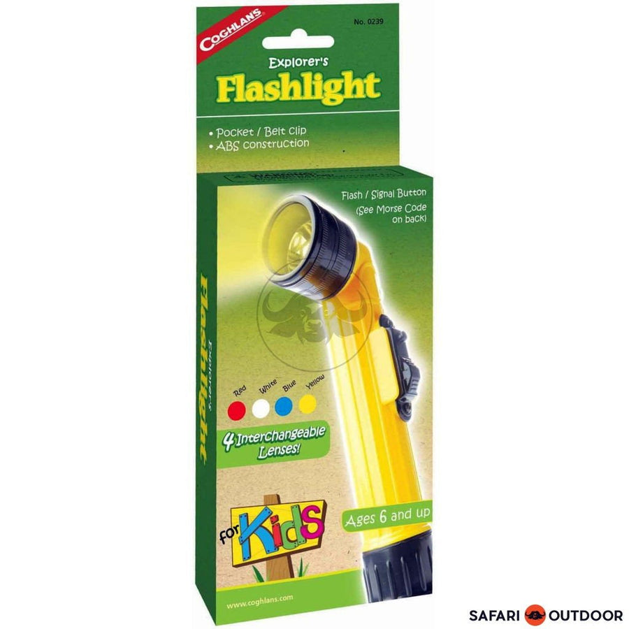 COGHLANS FLASHLIGHT KIDS - SAFARI OUTDOOR