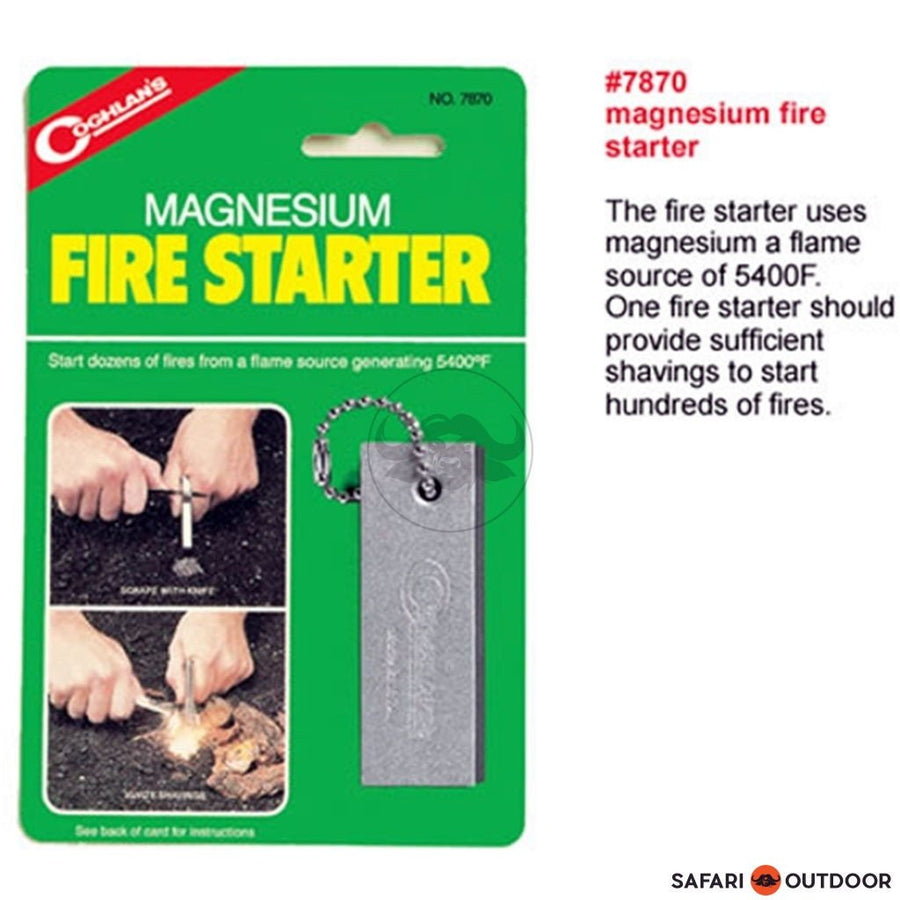 COGHLANS MAGNESIUM FIRE STARTER - SAFARI OUTDOOR