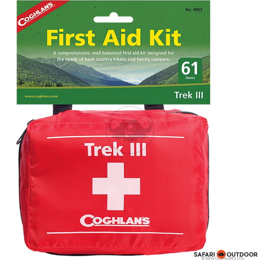 COGHLANS TREK III FIRST AID KIT - SAFARI OUTDOOR