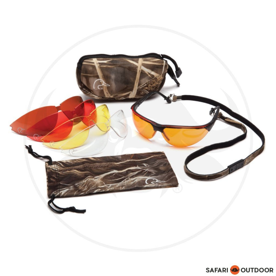 Shooting Glasses with 5 Interchangeable lenses - SAFARI OUTDOOR