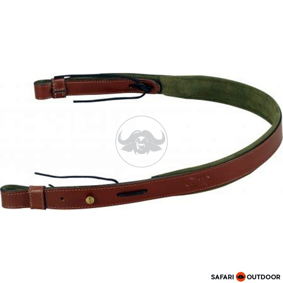 LEVY LEATHER SLING WITH SUEDE BACKING AND FOAM - SAFARI OUTDOOR