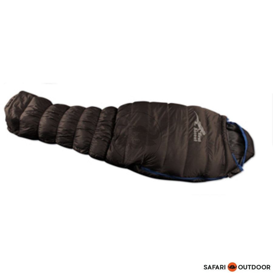 FIRST ASCENT  SLEEPBAG 15R AMPLIFY DOWN LIGHT CHARCOAL - SAFARI OUTDOOR